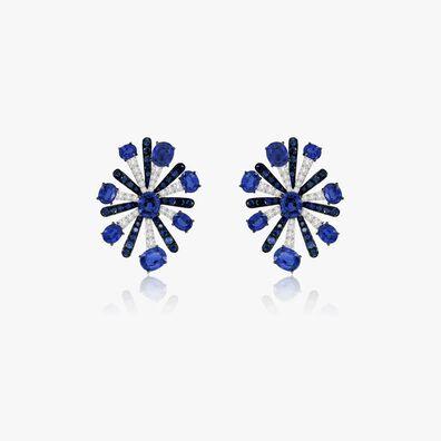 Sutra Sapphire Earrings