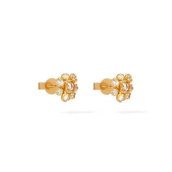 Hidden Reef 18ct Gold Diamond Studs   Annoushka jewelley