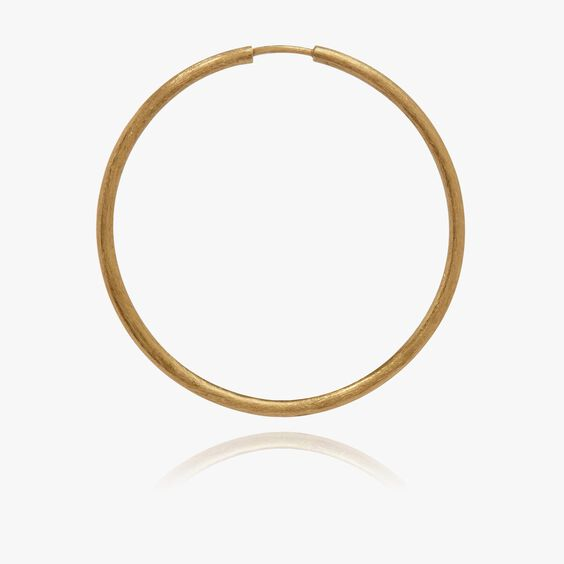 18ct Gold Medium Hoop Earring | Annoushka jewelley