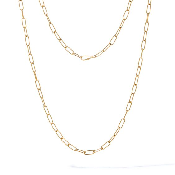 14ct Gold Mini Short Cable Chain | Annoushka jewelley