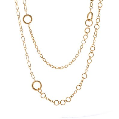 18ct Gold Biography Chain