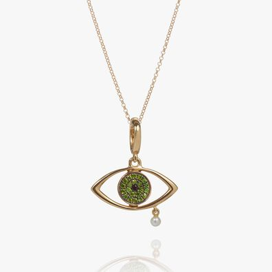 18ct Gold Diamond The Weeping Song Necklace