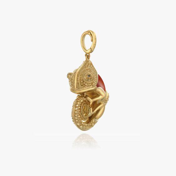 18ct Gold Interchangeable Chameleon Charm | Annoushka jewelley
