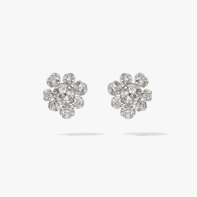 Marguerite 18ct White Gold Diamond Large Stud Earrings