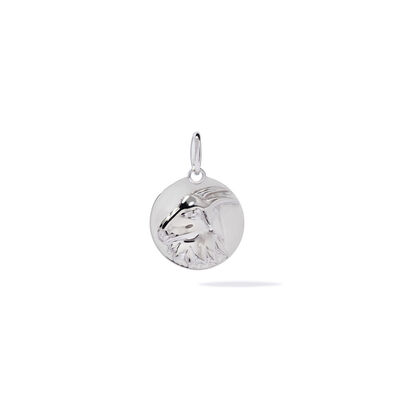 Mythology 18ct White Gold Capricorn Pendant