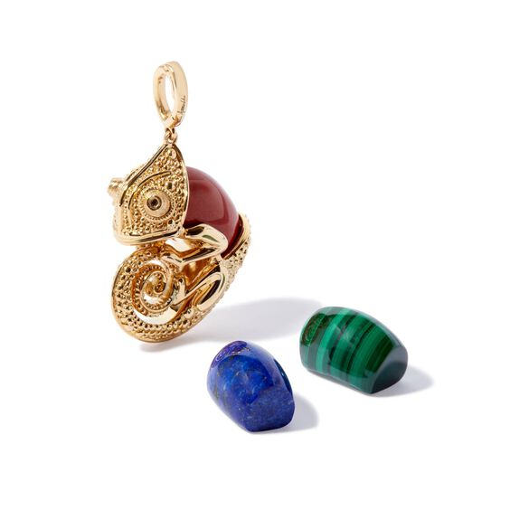 18ct Gold Interchangeable Chameleon Charm | Annoushka jewelley