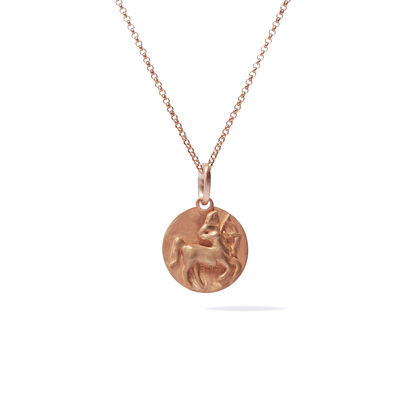 Mythology 18ct Rose Gold Sagittarius Necklace