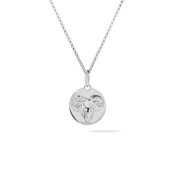 Mythology 18ct White Gold Aries Necklace   Annoushka jewelley