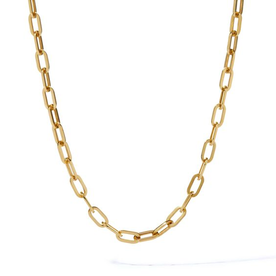 18ct Gold Cable Chain | Annoushka jewelley