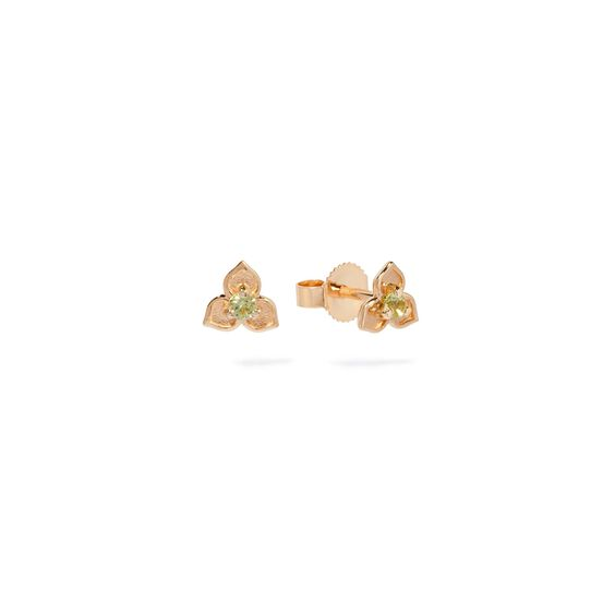 Tokens 14ct Gold Peridot Studs   Annoushka jewelley