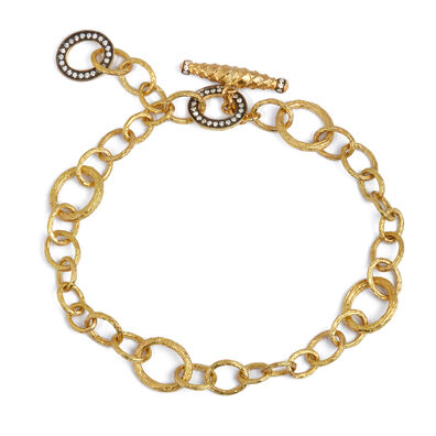 Mythology 18ct Gold Diamond Charm Bracelet