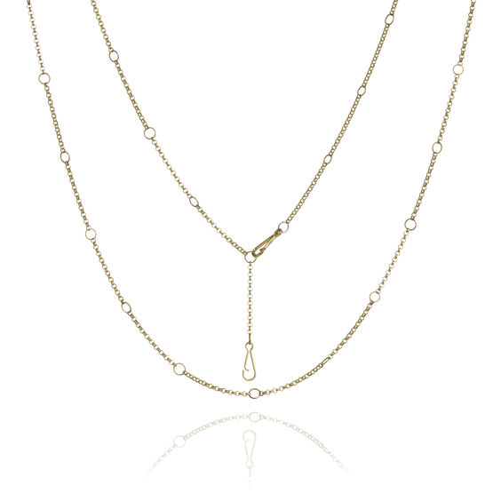 Hoopla 18ct Gold Long Chain