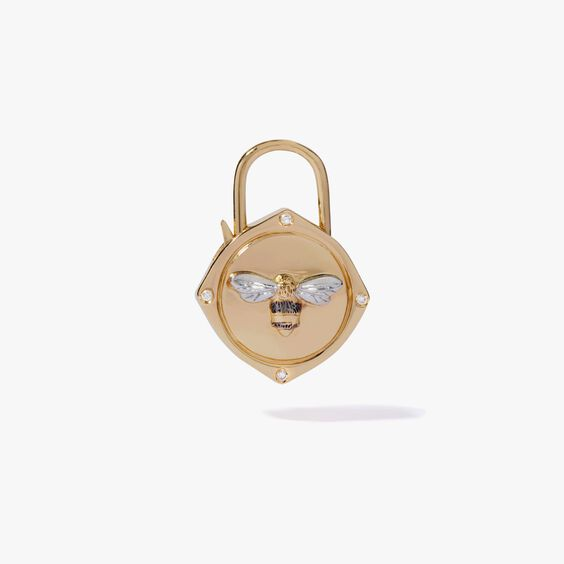 Lovelock 18ct Gold Diamond Bee Charm | Annoushka jewelley