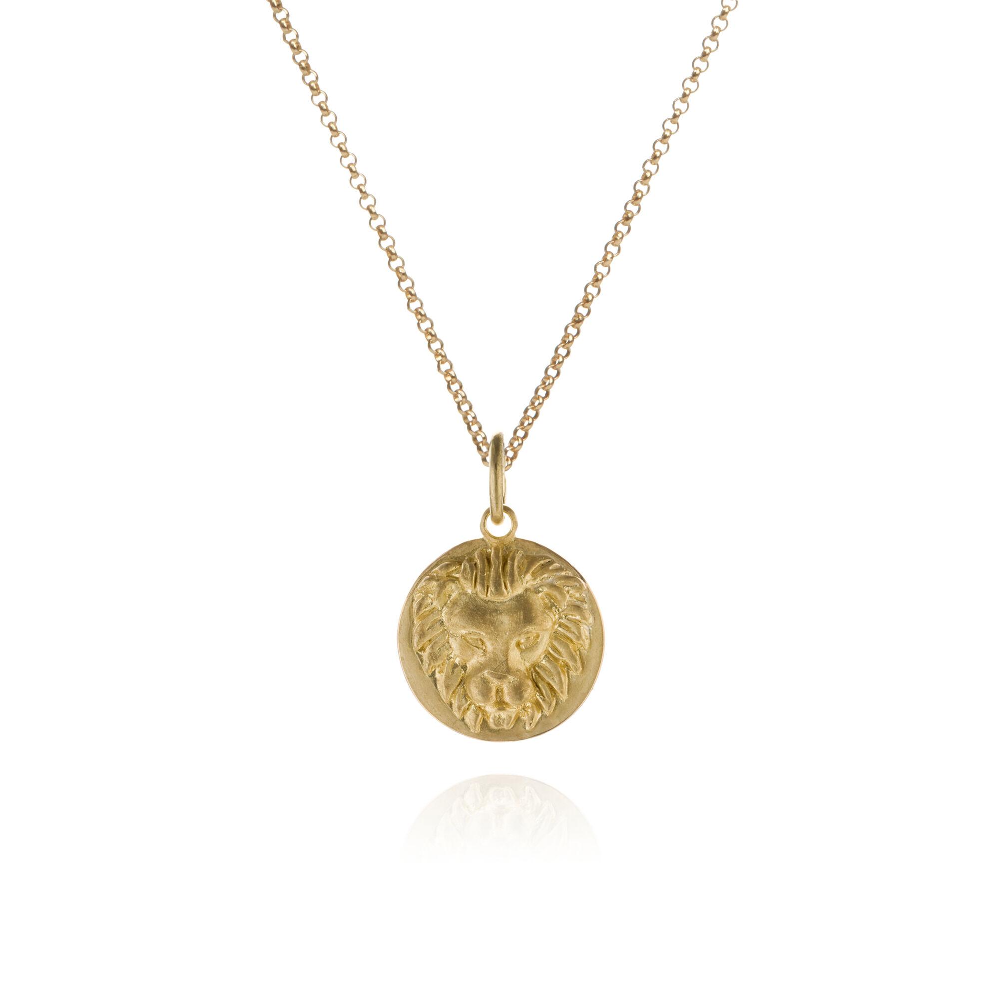 Mythology 18ct Gold Leo Necklace