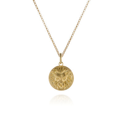 Mythology 18ct Gold Leo Necklace