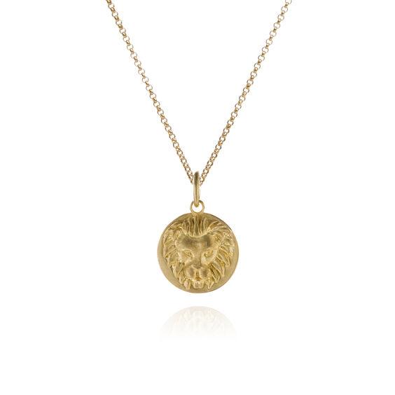Mythology 18ct Gold Leo Necklace | Annoushka jewelley