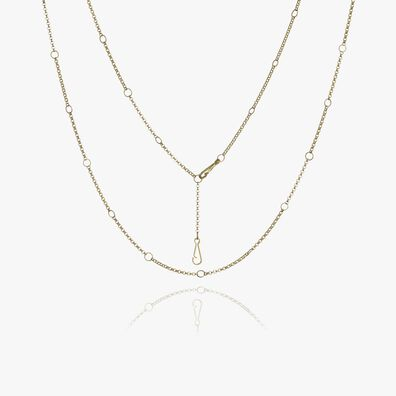Hoopla 14ct Gold Short Chain
