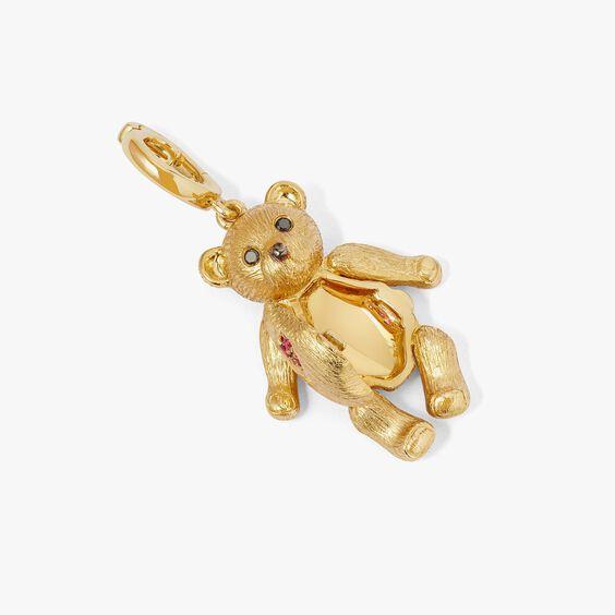 Mythology 18ct Gold Teddy Bear Locket Charm | Annoushka jewelley