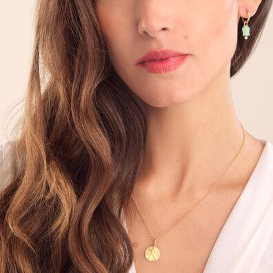 Mythology 18ct Gold Aquarius Necklace