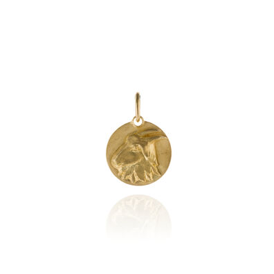 Mythology 18ct Gold Capricorn Pendant
