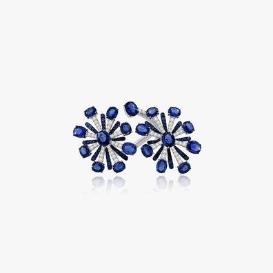 Sutra Sapphire & Diamond Ring