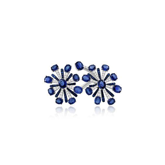 Sutra Sapphire & Diamond Ring   Annoushka jewelley