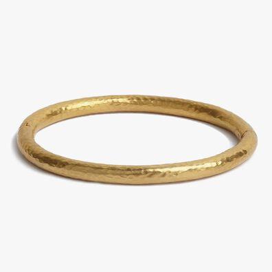 18ct Gold Organza Bangle