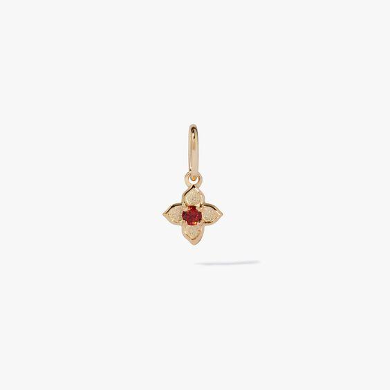 Tokens 14ct Gold Garnet Pendant   Annoushka jewelley