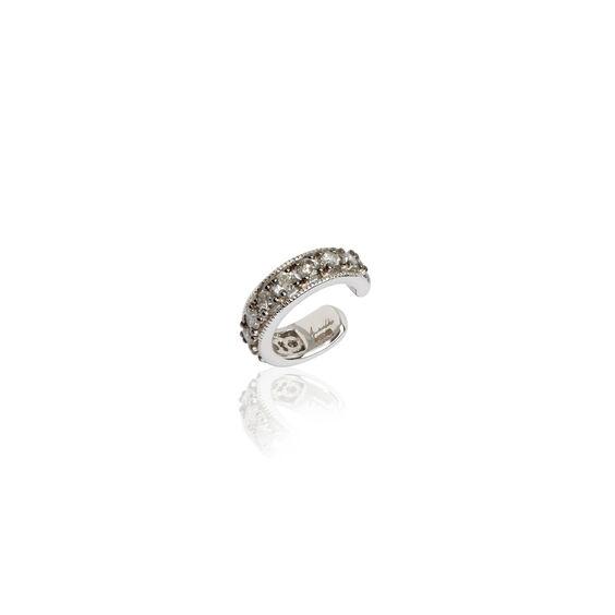 Dusty Diamonds White Gold Diamond Ear Cuff | Annoushka jewelley