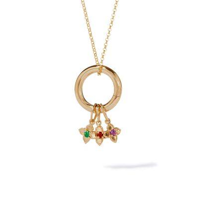 Tokens 14ct Gold Birthstone Necklace