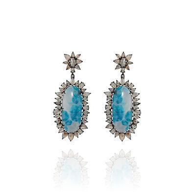 Sutra Paraiba Tourmaline Earrings