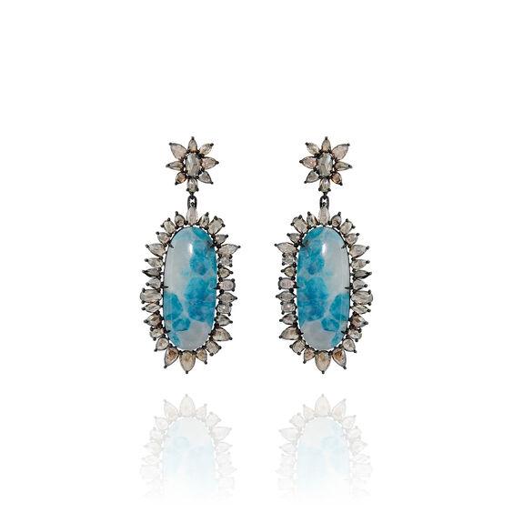 Sutra Paraiba Tourmaline Earrings | Annoushka jewelley