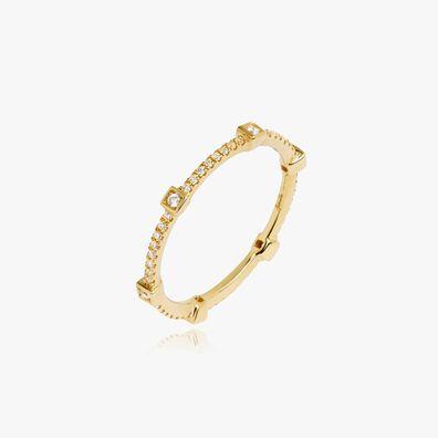 Pavilion 18ct Gold Diamond Eternity Ring