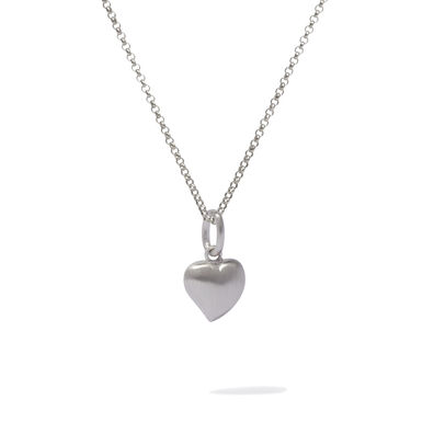 Mythology 18ct White Gold Heart Necklace