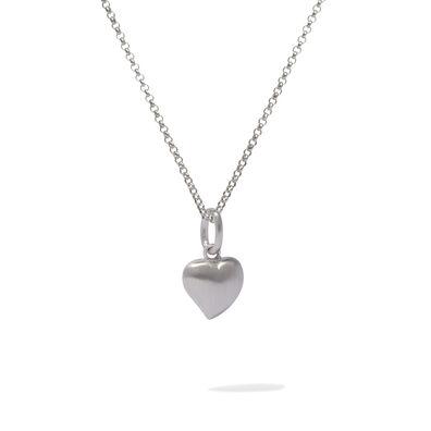 Mythology 18ct White Gold Heart Necklace