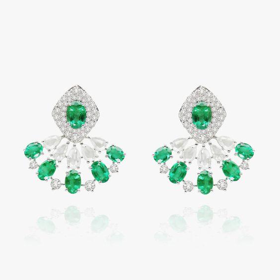 Sutra Emerald Earrings   Annoushka jewelley