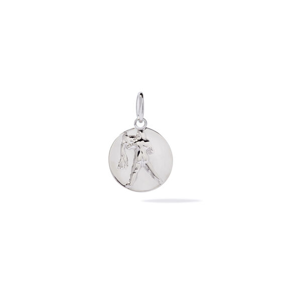 Mythology 18ct White Gold Aquarius Pendant | Annoushka jewelley