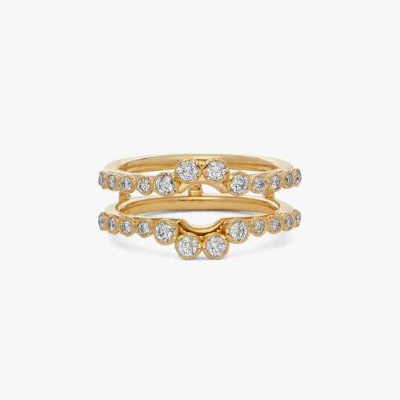 Marguerite 18ct Gold Jacket Ring   Annoushka jewelley