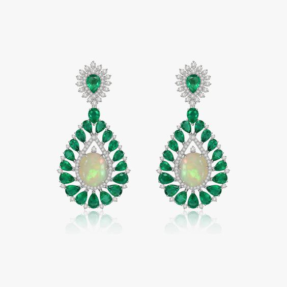 Sutra Opal Earrings