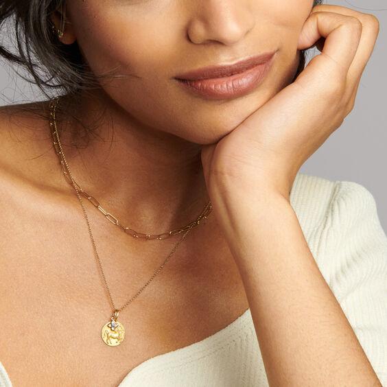 Tokens 14ct Gold Tanzanite Necklace