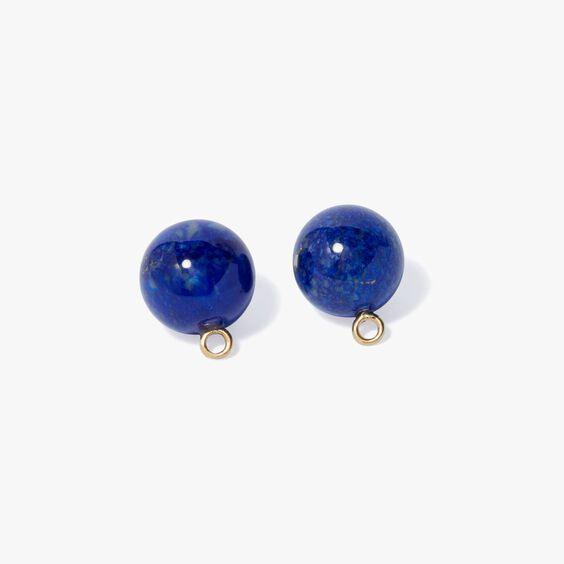 A Single Set of Lapis Lazuli 18ct Gold Cufflinks | Annoushka jewelley