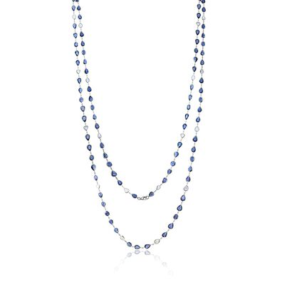 Sutra Sapphire Necklace
