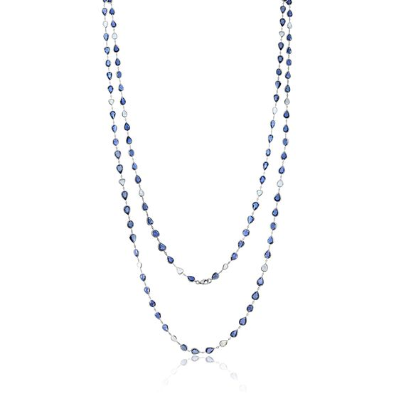 Sutra Sapphire Necklace | Annoushka jewelley