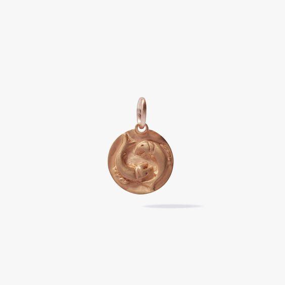 Mythology 18ct Rose Gold Pisces Pendant