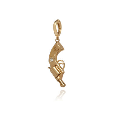 "18ct Gold Diamond ""Deanna"" Charm"