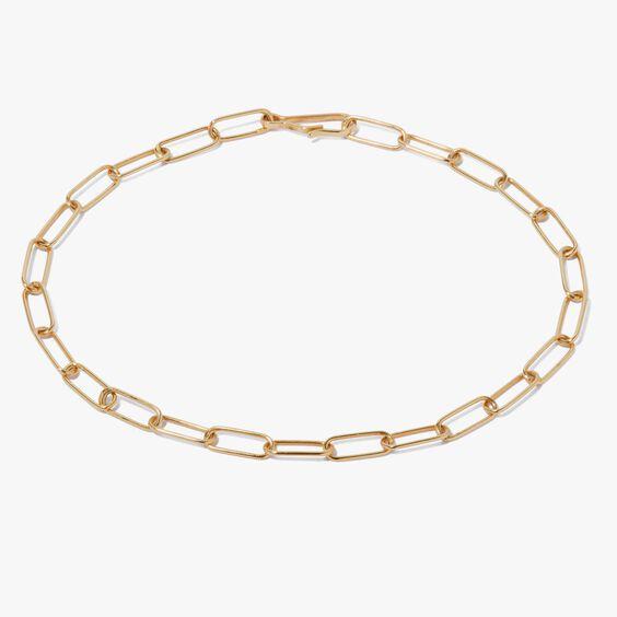 14ct Gold Mini Cable Bracelet Chain