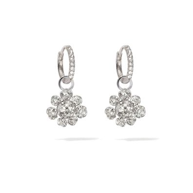 Marguerite 18ct White Gold Diamond Earrings