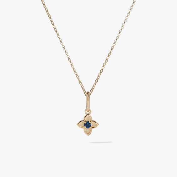 Tokens 14ct Gold Sapphire Necklace
