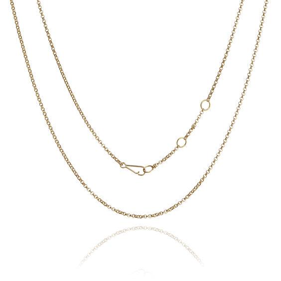 18ct Gold Belcher Chain | Annoushka jewelley