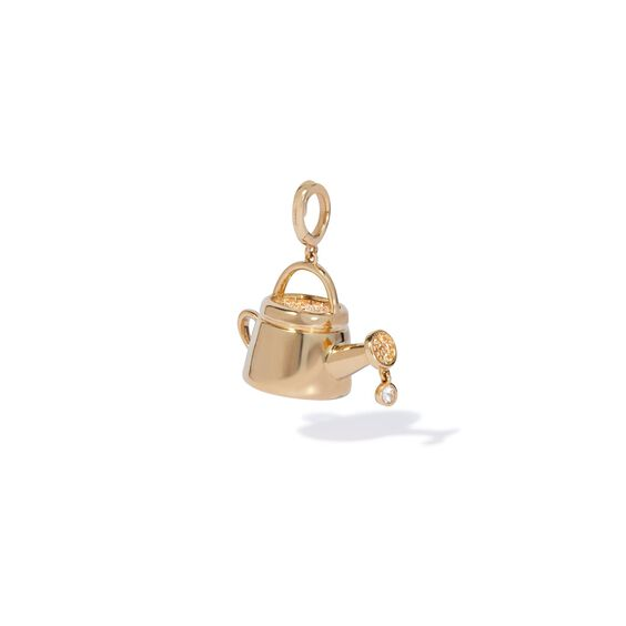 18ct Gold Sapphire Water Your Hope Charm   Annoushka jewelley